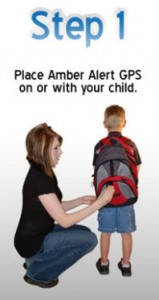 Placing Childs GPS Tracking Device on or with Kids